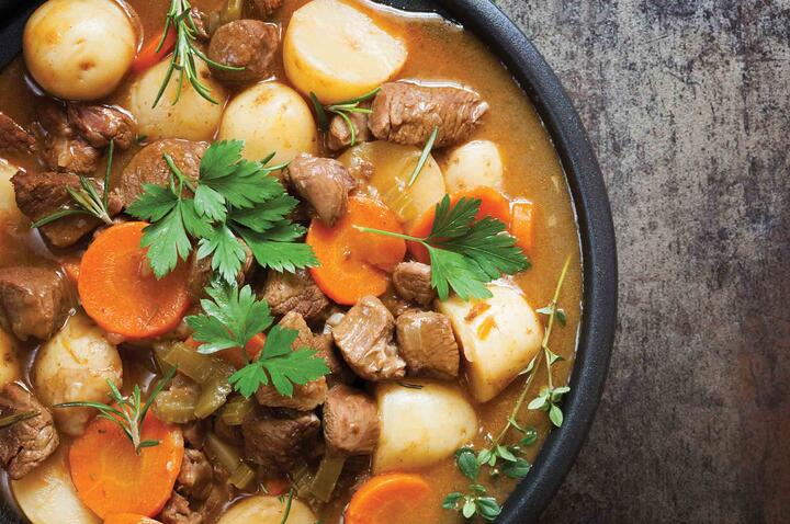 Éire go Brách – St. Paddy's Day Irish Stew with Guinness