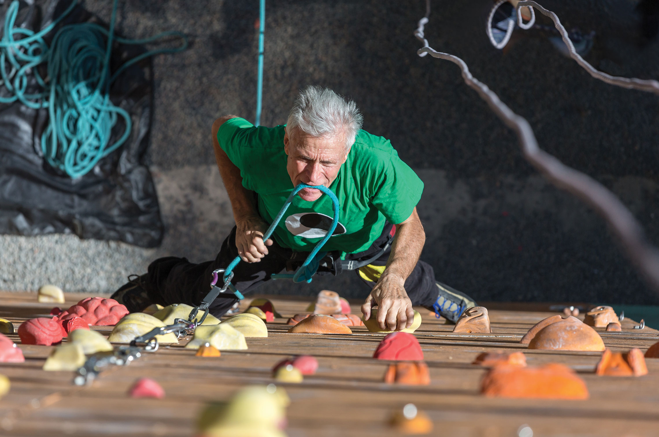 Find Your Higher Ground with Indoor Rock Climbing