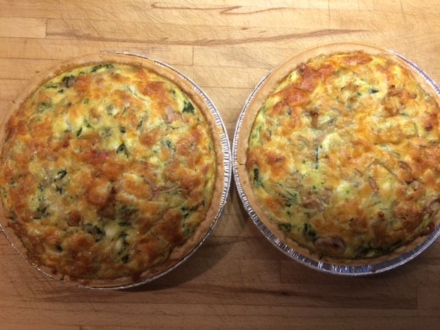 Enjoying Homemade Food A Recipe For Spinach Quiche Everything Retirement
